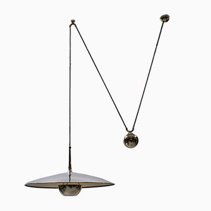 Onos Pendant Lamp with Counterweight by Florian Schulz, Germany, 1970s