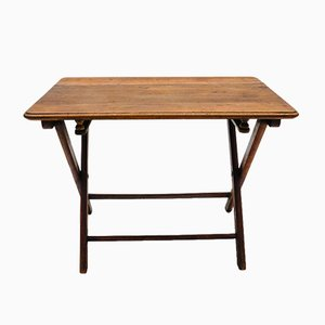 Bauhaus Wooden Folding Coffee Table, 1940s, Germany