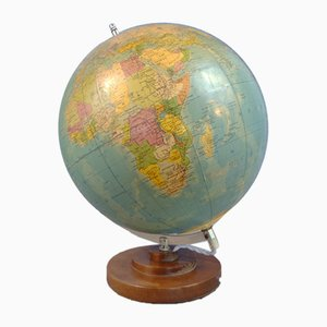 Globe with Internal Lighting from Räth, East Germany, 1986