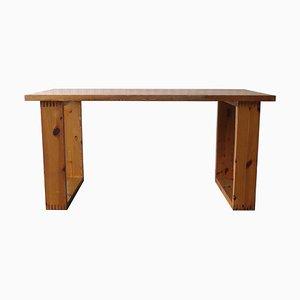 Pine Dining Table by Ate Van Apeldoorn for Houtwerk Hattem, 1970s