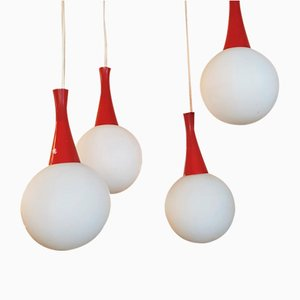 Cascade Space Age Ceiling Light by Richard Essig