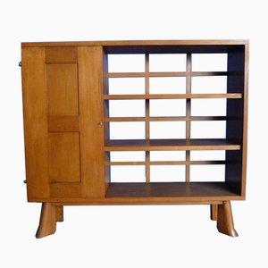 Art Deco Oak Sideboard Cabinet, 1930s