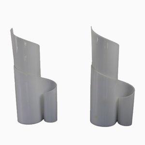 Table Lamps in Plexiglas, Set of 2