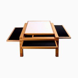 Modular Table by Bernard Vuarnesson for Bellato Italy, 1980s