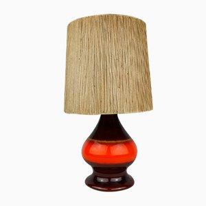 Mid-Century Ceramic Table Lamp from Hustadt, 1960s