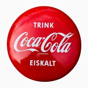 Mid-Century Coca Cola Disc Schild, Deutschland