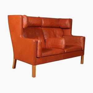 2-Sitzer Kupé Sofa von Børge Mogensen für Fredericia