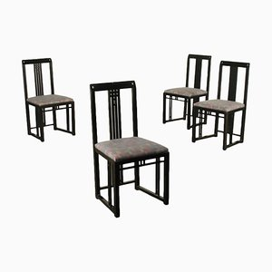 Chairs by Giorgetti for Meda, Italy, 1980s, Set of 4