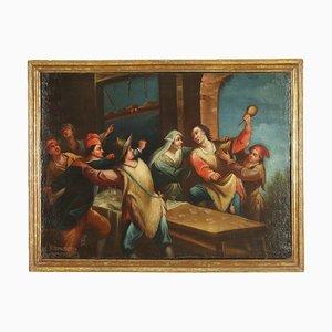 Rissa in Osteria, Oil on Canvas