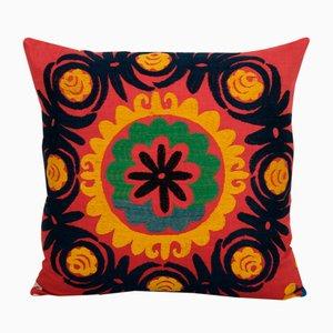 Vintage Colorful Suzani Cushion Cover