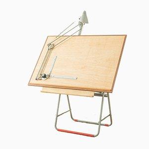 Mesa de dibujo de arquitecto de Nestler, años 50