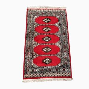 Vintage Pakistani Handmade Bukhara Rug, 1960s