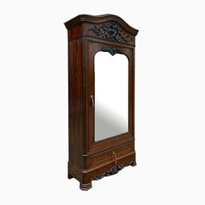 Antique French Rosewood Wardrobe or Armoire