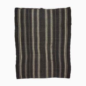 Großer türkischer minimalistischer Kelim Teppich, 1960er