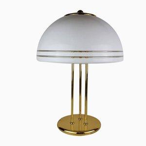 Große Mushroom Tischlampe von Solken Leuchten, 1970er