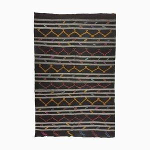 Vintage Danish Style Kilim Rug, Turkey