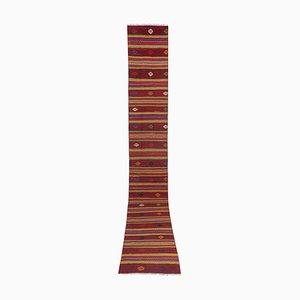 Extra Long Turkish Handmade Kilim Runner Rug