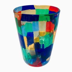 Vintage Italian Murano Glass Drinking Set by Angelo Ballarin for Ribes Studio, Set of 6