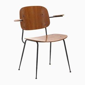 Soborg Stuhl mit Armlehnen von Børge Mogensen für Fredericia, 1950er