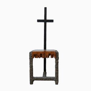 Mid-Century Brutalist Swedish Occasional Chair