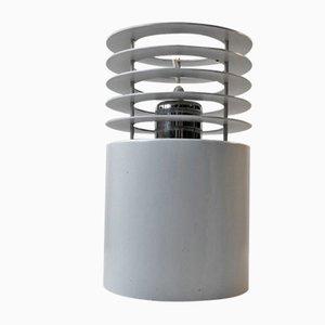 Minimalist White Hydra 1 Pendant Lamp by Jo Hammerborg for Fog & Morup, 1970s