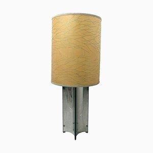 Vintage Stahl Stehlampe von Gaetano Sciolari für Sciolari, 1970er
