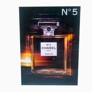 Werbedisplay mit Licht von Chanel