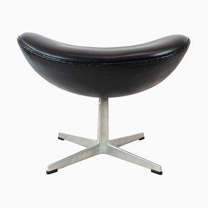 Modell 3127 Egg Hocker von Arne Jacobsen und Fritz Hansen