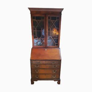English Solid Wood Secretaire