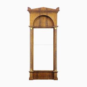 19th Century Empire Revival Mahogany Pier Mirror