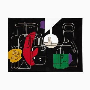 Stillleben Wandteppich von Le Corbusier, Frankreich, 1950er
