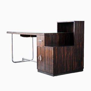 Modernist Desk by Antoon Blanckaert for House Singelyn, Blanckaert Aalst, Belgium, 1932