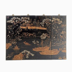 19th Century Wooden Chinese Wall Décor