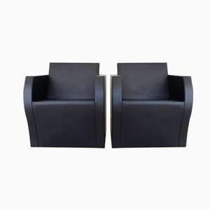 Elemantaire 1 Easy Chairs by Jean Nouvel for Ligne Roset, 1990, Set of 2