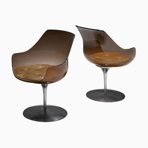 Champagne Chairs by Erwine & Estelle for Laverne International, 1959, Set of 2