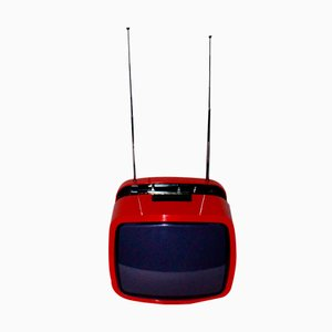 Télévision, Modèle Ikaro 1200, Rouge de Minerva, 1970s