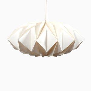 Vintage Kristallglas Lampe von Peter Hvidt & Orla Mølgaard für Le Klint