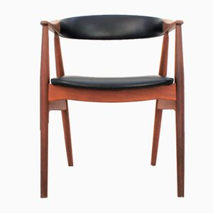 Skandinavischer Stuhl aus massivem Teak von Th. Harlev für Farstrup Møbler
