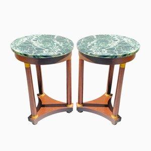 Gueridon Tables, Set of 2