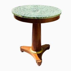 Large Empire Style Pedestal Table