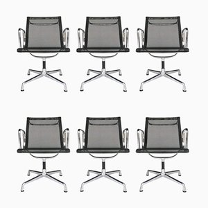 Aluminium EA 108 Chairs by Charles & Ray Eames for Vitra, Set of 6