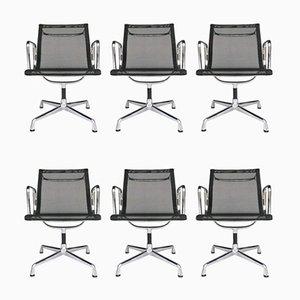Aluminium EA 108 Stühle von Charles & Ray Eames für Vitra, 6er Set