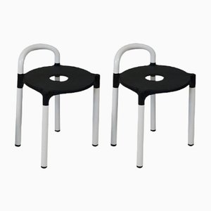 Polo Stools by Anna Castelli for Kartell Italy, Set of 2