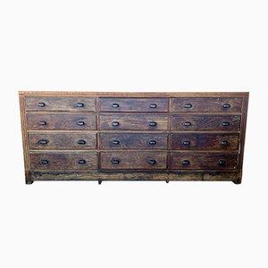 Vintage, 12 Drawer Workshop Cabinet, 1930s