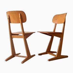 Stühle von Karl Nothhelfer für Casala, 1960er, 2er Set