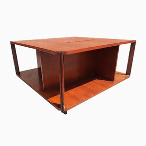 Coffee Table in Rosewood by Marco Zanuso for Arflex, 1960s