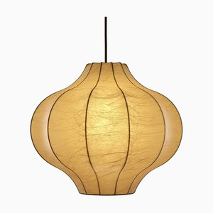 Cocoon Pendant Lamp by Friedel Wauer for Goldkant Germany, 1960s
