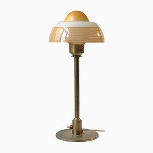 Art Deco Spiegelei Tischlampe von Fog & Mørup, 1930er