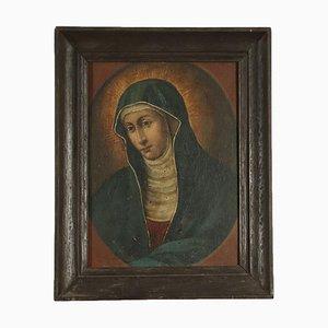 Volto di Madonna, Oil on Tablet