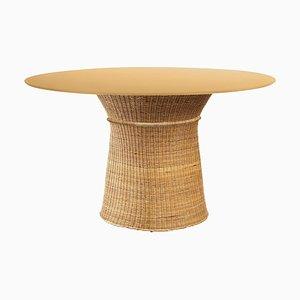 Caribe Natural Dining Table by Sebastian Herkner